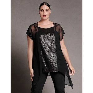 Isabel Toledo for Lane Bryant Sheer Chiffon Top 20